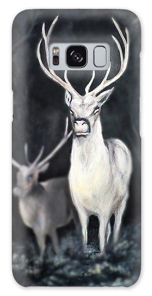Woodland Spirits Galaxy Case by Nancy Bradley