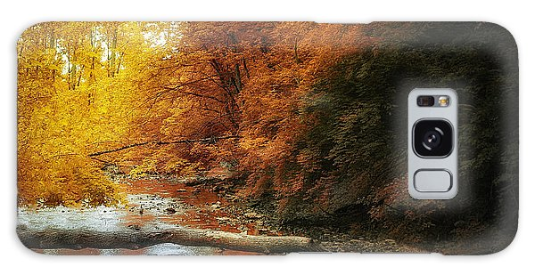 Woods Galaxy Case - Woodland Stream by Tom Mc Nemar