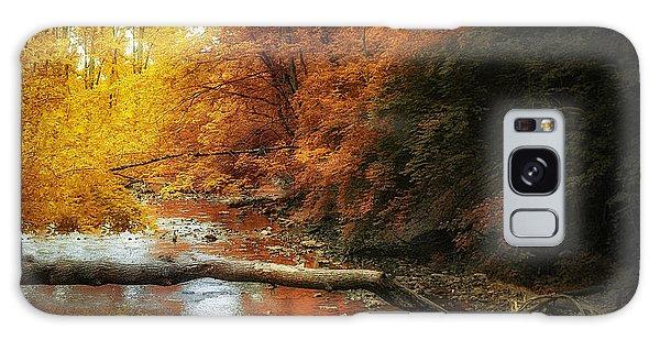 Stream Galaxy Case - Woodland Stream by Tom Mc Nemar