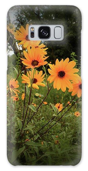 Woodland Sunflower Galaxy Case by Scott Kingery