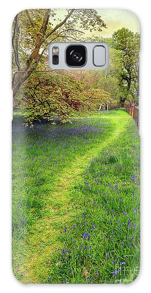 Bluebell Galaxy Case - Woodland Walk by Adrian Evans
