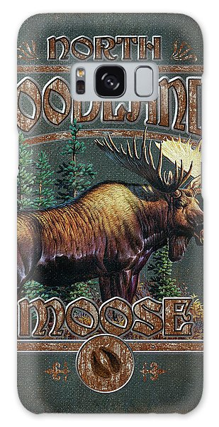 Antlers Galaxy Case - Woodlands Moose by JQ Licensing