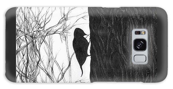 Woodpecker Galaxy Case by Anna  Duyunova