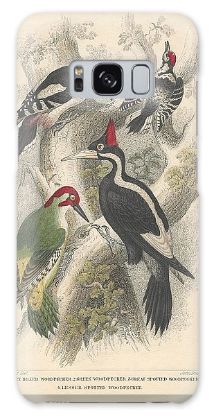 Woodpeckers Galaxy Case by Dreyer Wildlife Print Collections