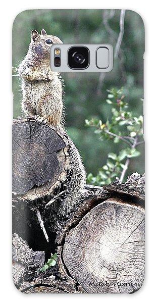Woodpile Squirrel Galaxy Case