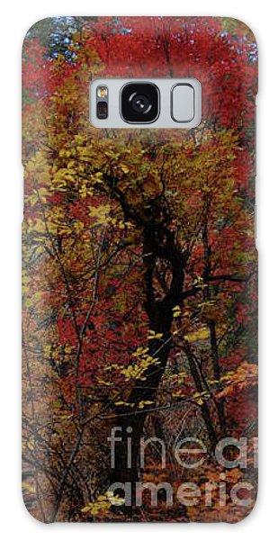Woods In Oak Creek Canyon, Arizona Galaxy Case