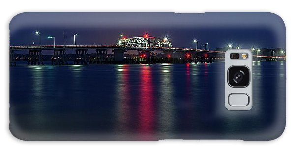 Woods Memorial Bridge Galaxy Case