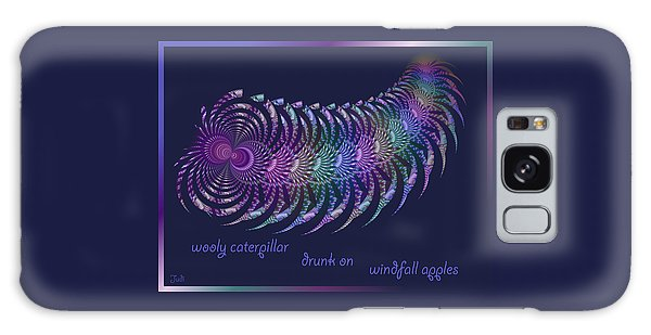 Wooly Caterpillar Haiga Galaxy Case by Judi Suni Hall