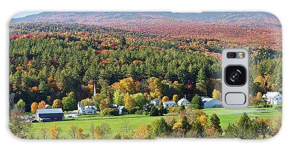 Worcester Vermont Autumn Galaxy Case by Alan L Graham