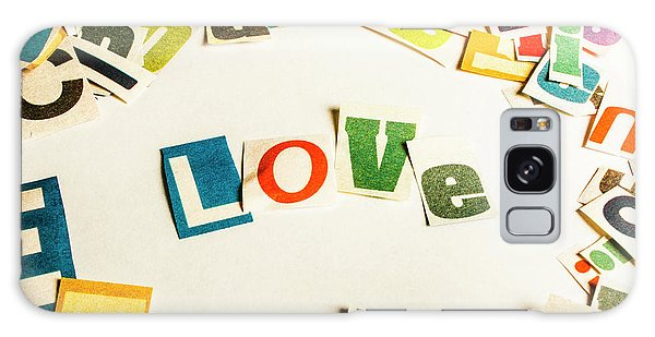 Style Galaxy Case - Word Of Love by Jorgo Photography - Wall Art Gallery