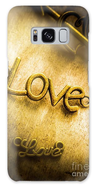 Words And Letters Of Love Galaxy Case