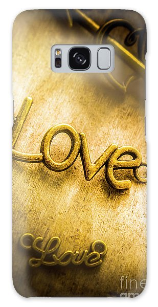 Pendant Galaxy Case - Words And Letters Of Love by Jorgo Photography - Wall Art Gallery
