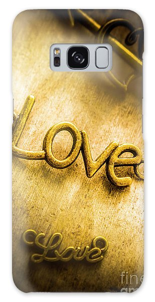 Decorative Galaxy Case - Words And Letters Of Love by Jorgo Photography - Wall Art Gallery