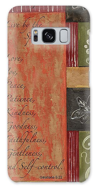 Galaxy Case - Words To Live By, Fruit Of The Spirit by Debbie DeWitt