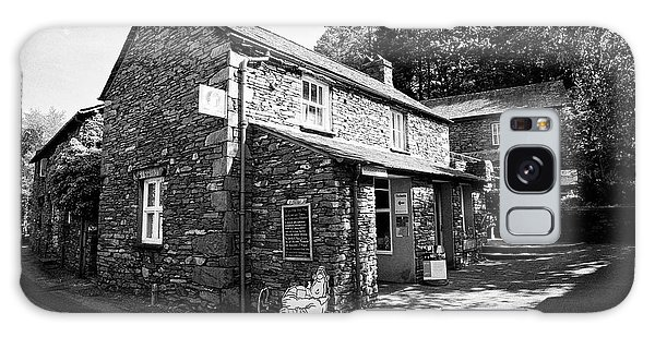 Grasmere Galaxy Case - Wordsworth Museum And Traditional Lake Stone Slate Built Cottages In The Hamlet Of Town End Near Gra by Joe Fox