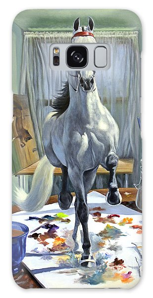 Surrealism Galaxy S8 Case - Work In Progress V by Jeanne Newton Schoborg