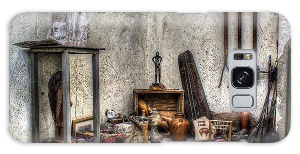 Galaxy Case featuring the photograph Work Room by Lynn Geoffroy