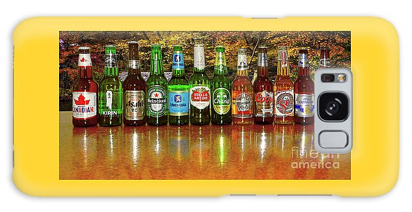 Galaxy Case featuring the photograph World Beers By Kaye Menner by Kaye Menner