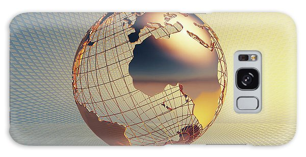 Colours Galaxy Case - World Global Business Background by Johan Swanepoel