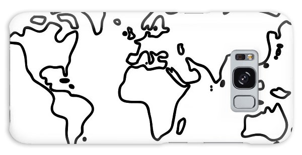 World Globe Galaxy Case
