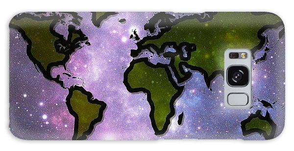 World In Space Galaxy Case