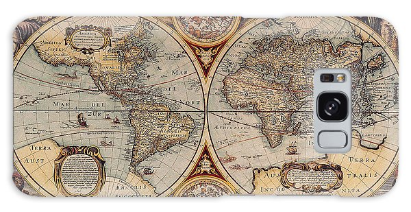 World Map 1636 Galaxy Case