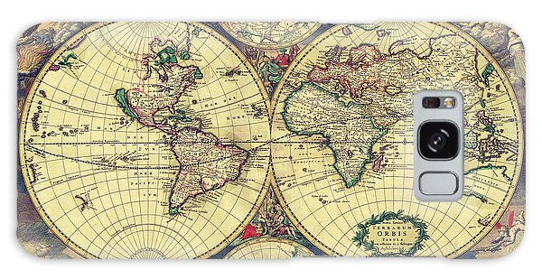 World Map 1689 Galaxy Case