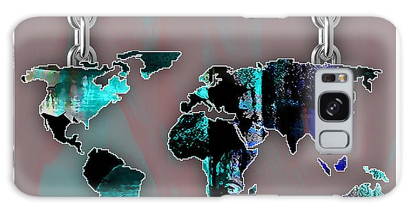 World Map Collection Galaxy Case