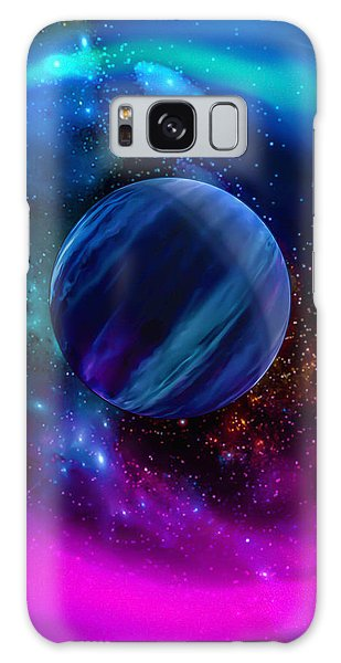 World Of Water Galaxy Case by Naomi Burgess