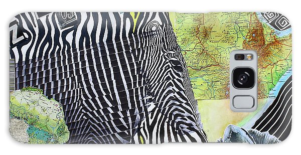 World Of Zebras Galaxy Case