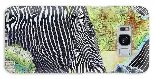 World Of Zebras Galaxy Case