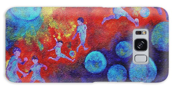 World Soccer Dreams Galaxy Case