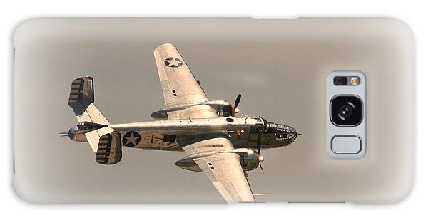 World War II B25 Mitchell Bomber Galaxy Case by David Dunham