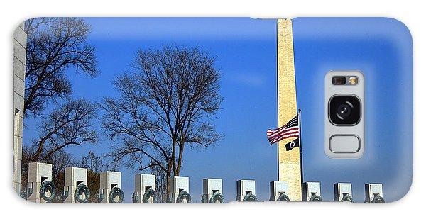World War II Memorial And Washington Monument Galaxy Case