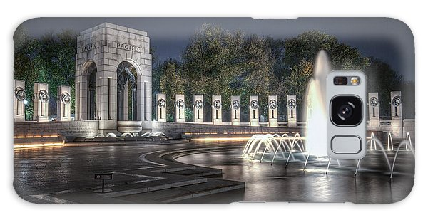 World War II Memorial At Night Galaxy Case