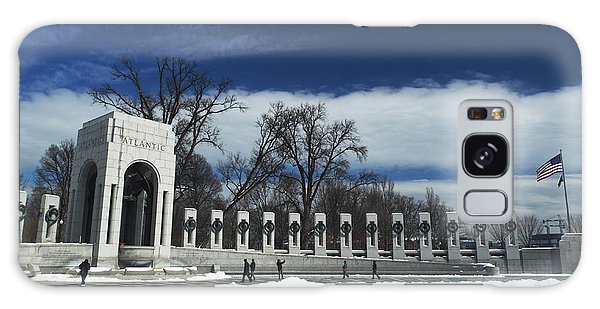 World War II Memorial Galaxy Case