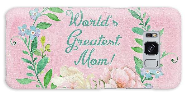 World's Greatest Mom Galaxy Case