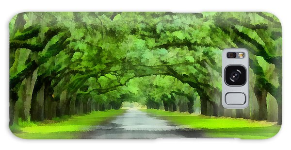 Wormsloe Plantation Galaxy Case