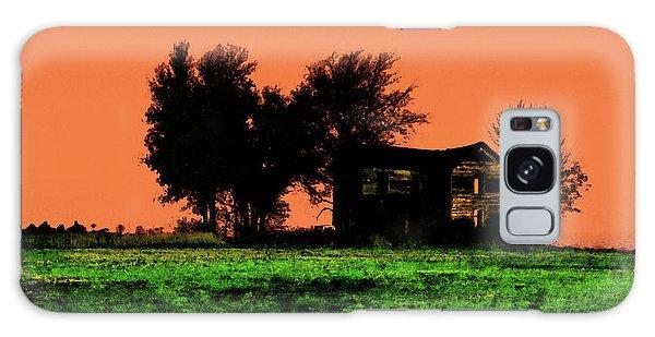 Worn House Galaxy Case