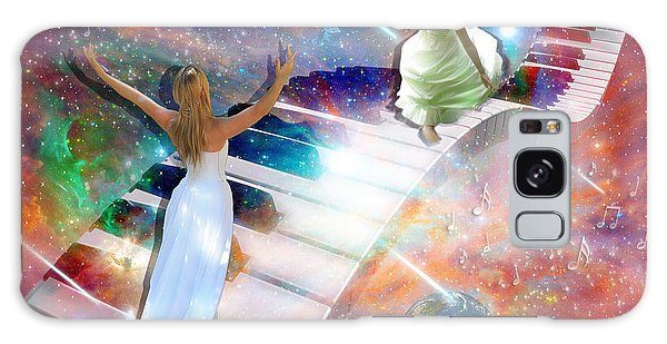 Worship In Spirit And In Truth Galaxy Case by Dolores Develde