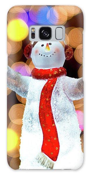 Worshiping Snowman Galaxy Case
