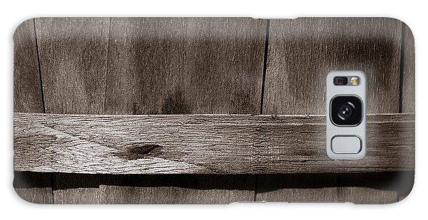 Woven Wood Galaxy Case by Chris Bordeleau