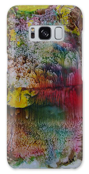 Wow- Exotic Landscape Galaxy Case by Sima Amid Wewetzer