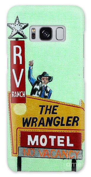 Wrangler Motel Galaxy Case