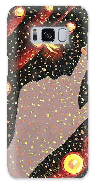 Wrapped Around My Finger Galaxy Case
