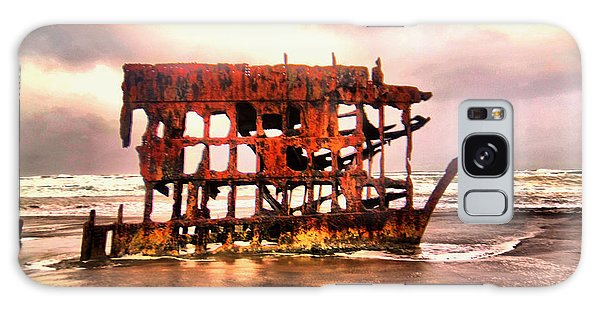 Peter Iredale Galaxy Case - Wreck Of The Peter Iredale  by Jeff Swan