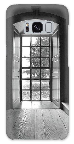 Wren Building Window Galaxy Case