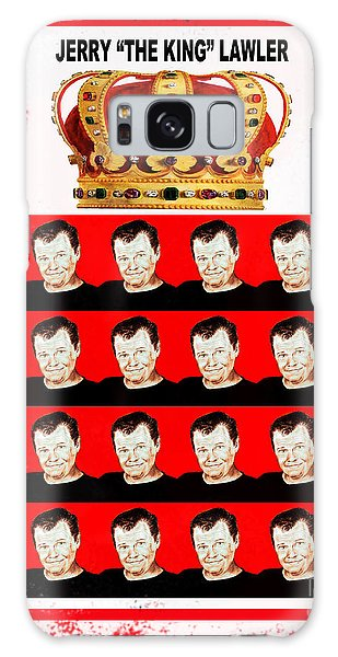 Wrestling Legend Jerry The King Lawler IIi Galaxy Case by Jim Fitzpatrick