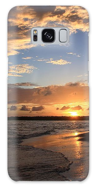 Wrightsville Beach Island Sunset Galaxy Case by Mountains to the Sea Photo