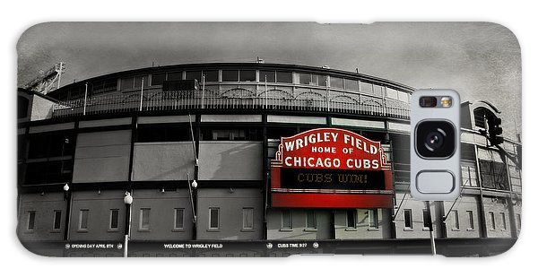 Chicago Art Galaxy Case - Wrigley Field Home Of The Chicago Cubs by Stephen Stookey